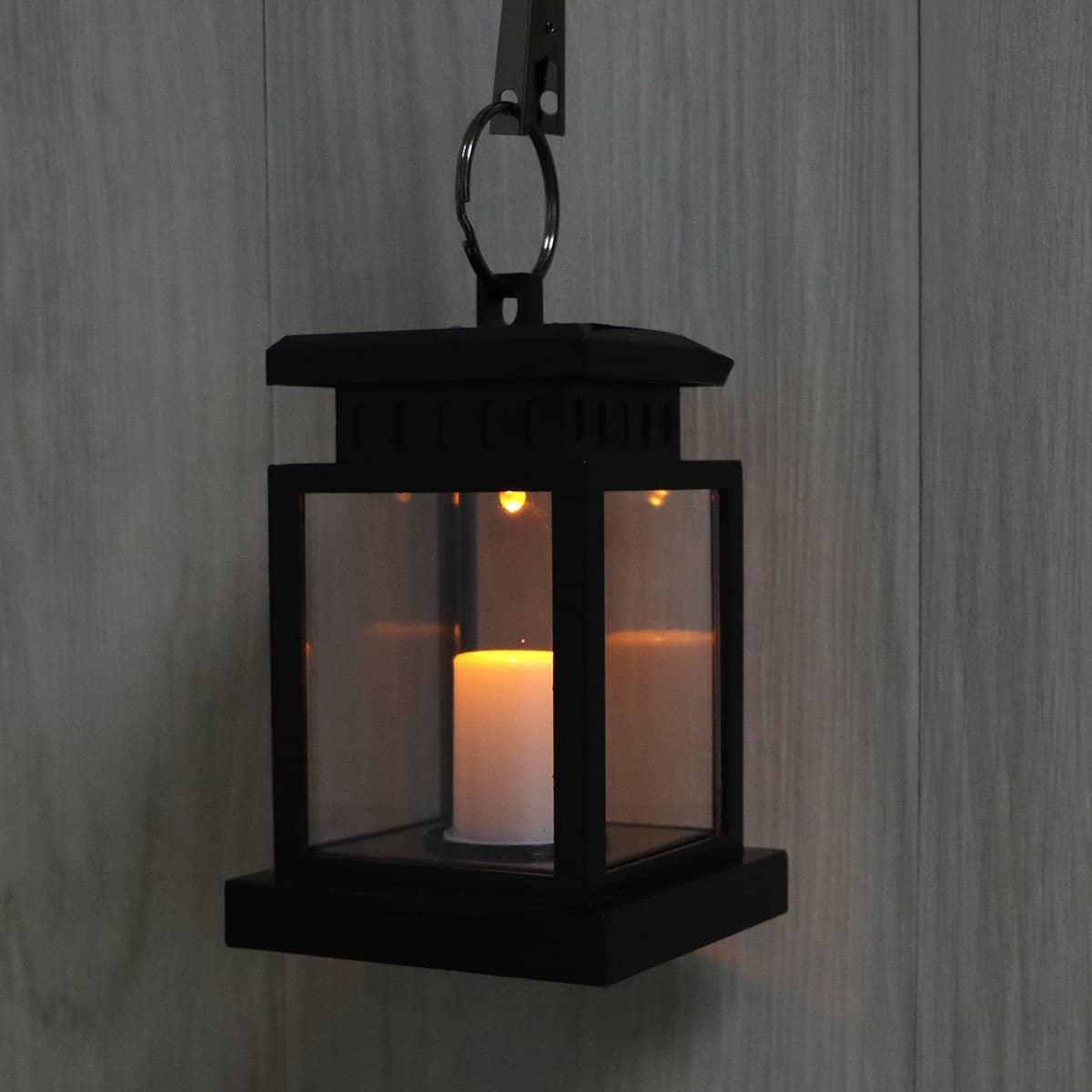 LED Flickering Solar Lantern