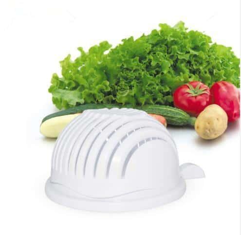 Salad Cutter Bowl