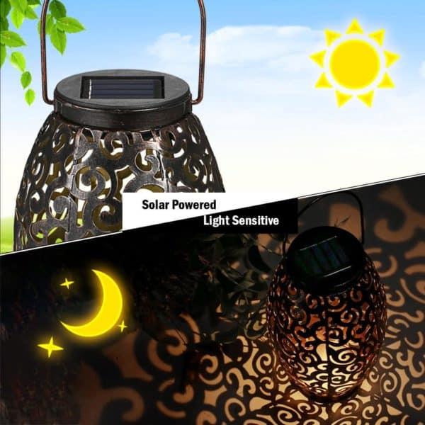 Solar Power LED Lantern