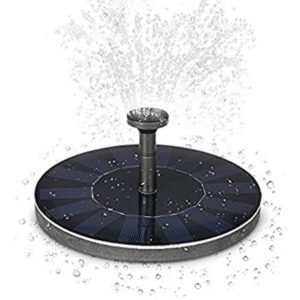 Solar Powered Fountain