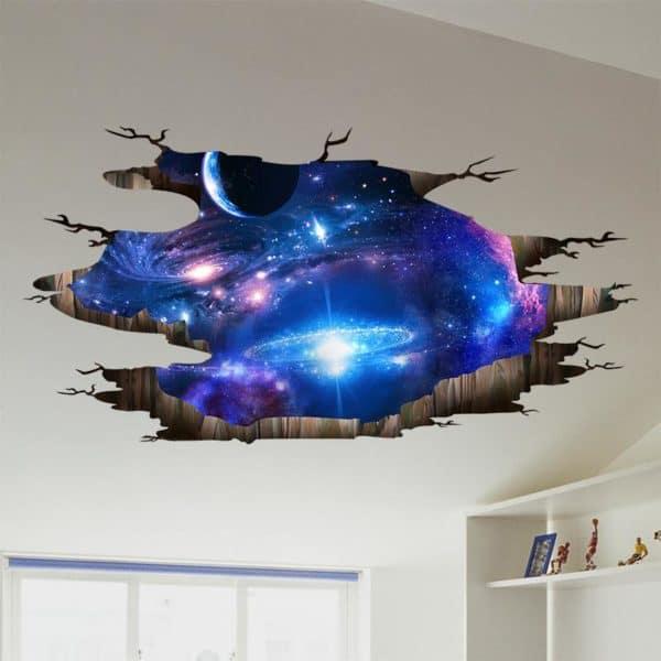 Space Floor Sticker