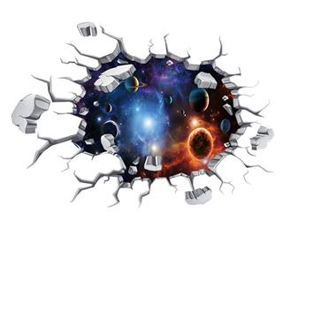 Space Floor Sticker Planet
