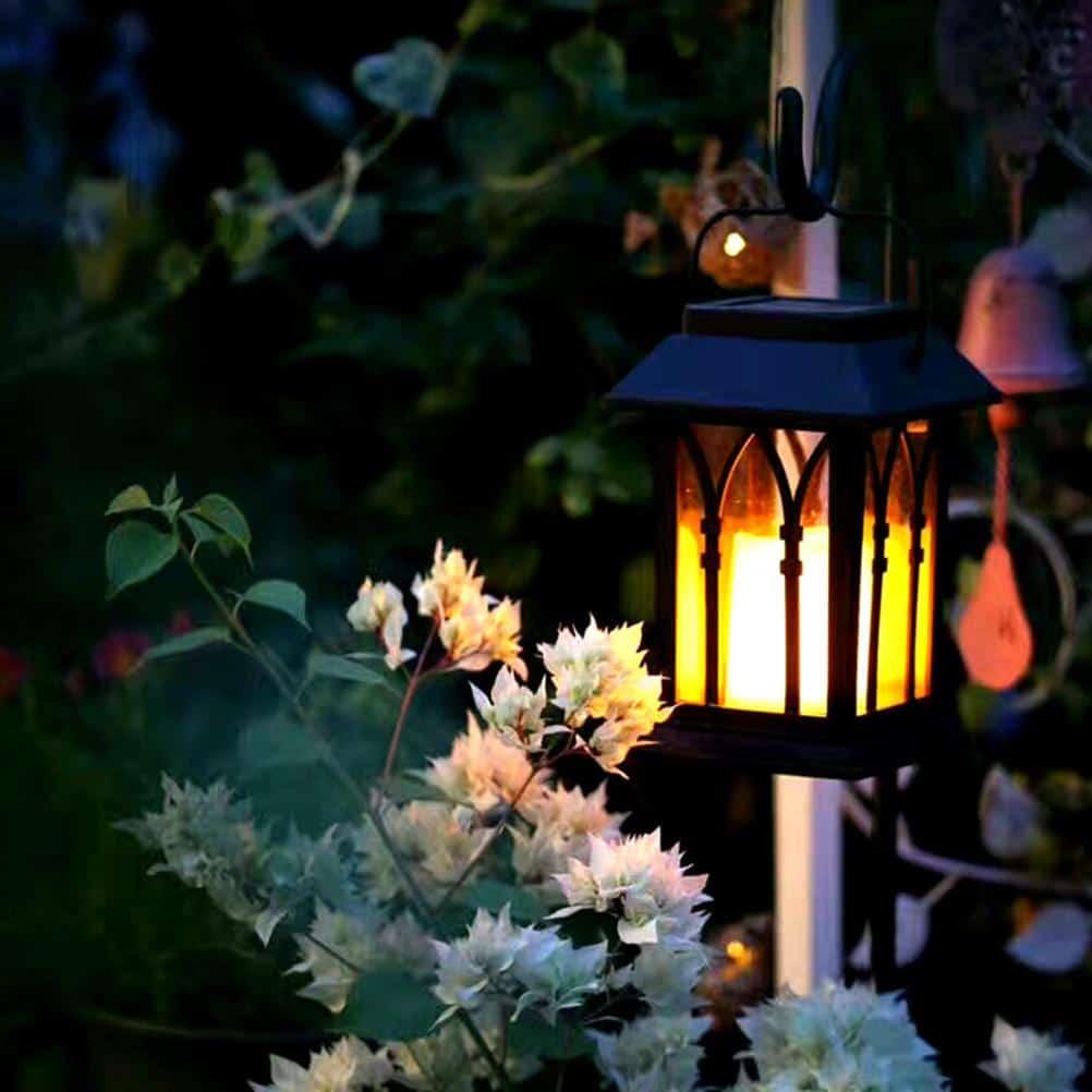 Vintage LED Solar Lantern